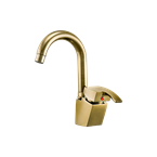 Arta Basin Mixer With Short Spout Olive