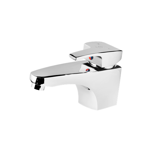 Arta Basin Mixer Chrome