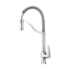 Parvaneh Sink mixer with Springy Spout Chrome