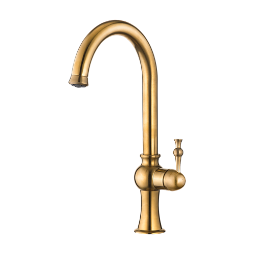 Delsa Sink Mixer Matte Gold