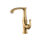 Diba Sink Mixer Matte Gold