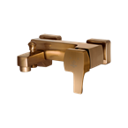 Arta Bath Mixer Rose Gold
