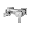 Arta Bath Mixer Steel