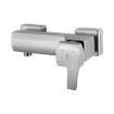 Arta Shower Mixer Steel