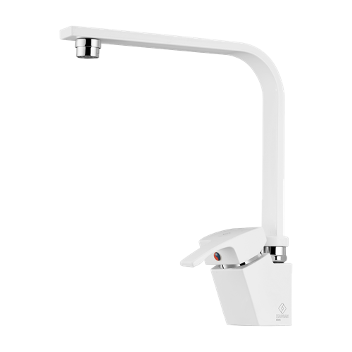 Arta Sink Mixer White