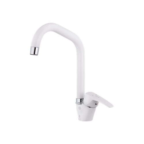 Ava Sink Mixer White